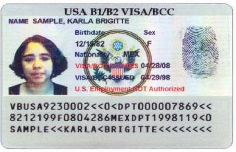 Border Crossing Card (DSP-150)