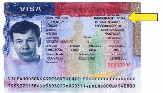Earlier form of immigrant visa by by top rated Tucson Arizona Immigration Attorney LawyerJohn Messing