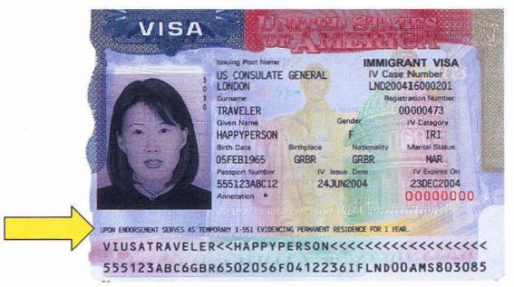 More recent form of immigrant visa by top rated Tucson Arizona Immigration Attorney LawyerJohn Messing